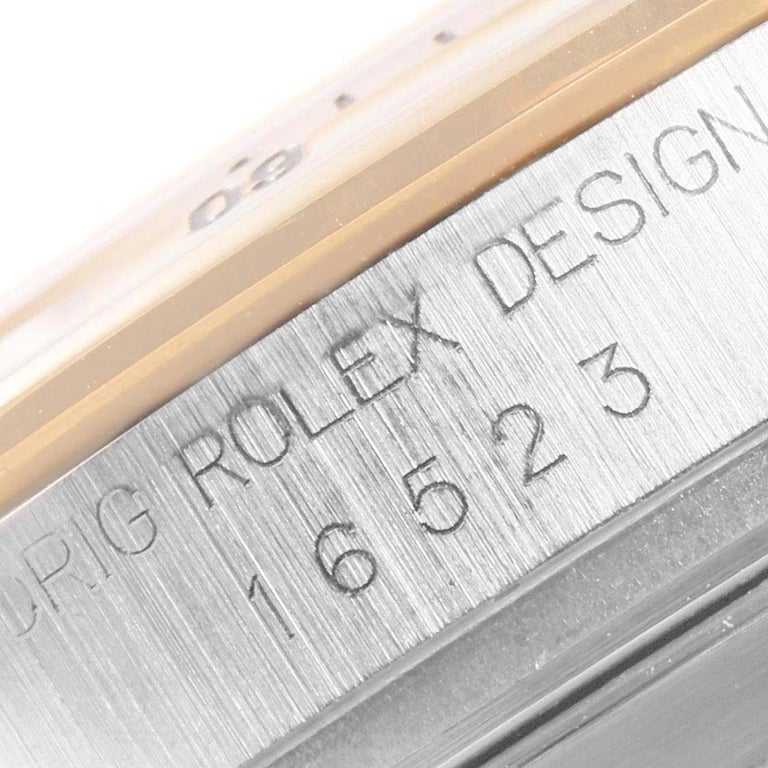Rolex Daytona Steel Yellow Gold Men's Watch 16523 Box For Sale 4