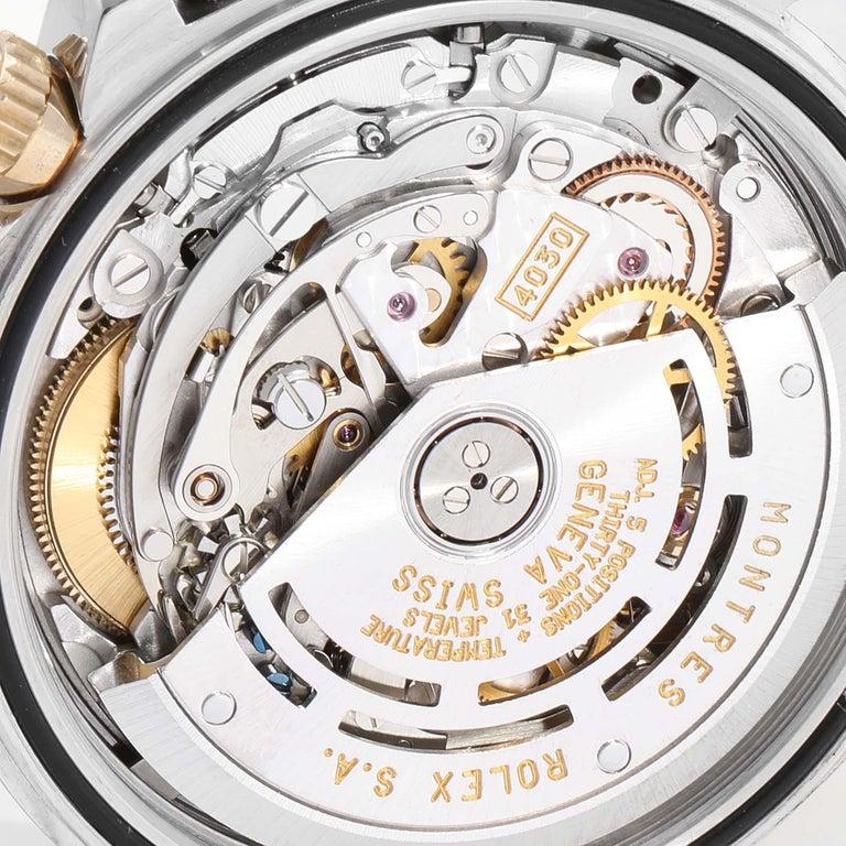 Rolex Daytona Steel Yellow Gold Men's Watch 16523 Box For Sale 5