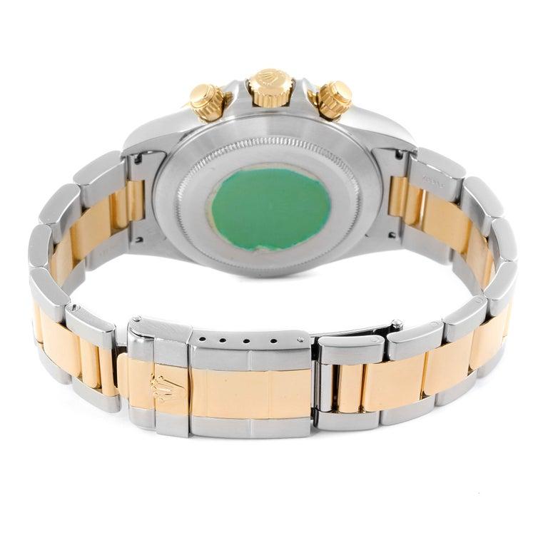 Rolex Daytona Steel Yellow Gold Men's Watch 16523 Box For Sale 6