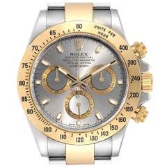 Rolex Daytona Steel Yellow Gold Slate Dial Chronograph Men's Watch 116523