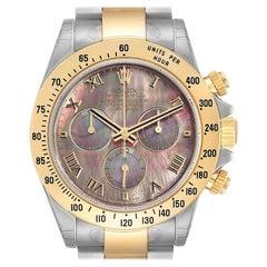 Rolex Daytona Steel Yellow Gold Slate Dial Chronograph Men's Watch 116523 Unworn