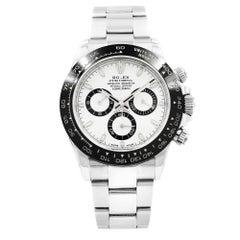 Rolex Daytona White Panda Dial Steel Ceramic Automatic Men's Watch 116500LN w