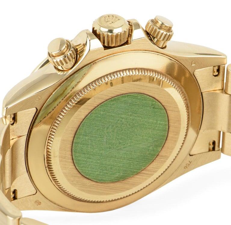 Rolex Daytona Yellow Gold 116528 Watch For Sale 1