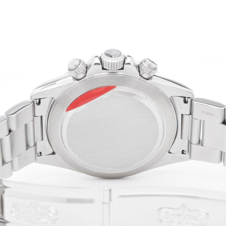 Rolex Daytona Zenith Chronograph Stainless Steel 16520 For Sale 2