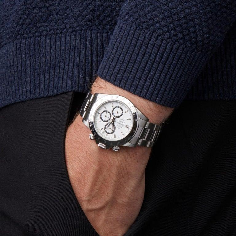 Rolex Daytona Zenith Chronograph Stainless Steel 16520 For Sale 4