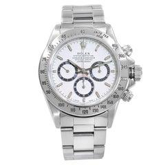 Rolex Daytona Zenith Movement Steel White Sticks Dial Automatic Mens Watch 16520