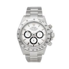 Rolex Daytona Zenith Stainless Steel 16520 Wristwatch