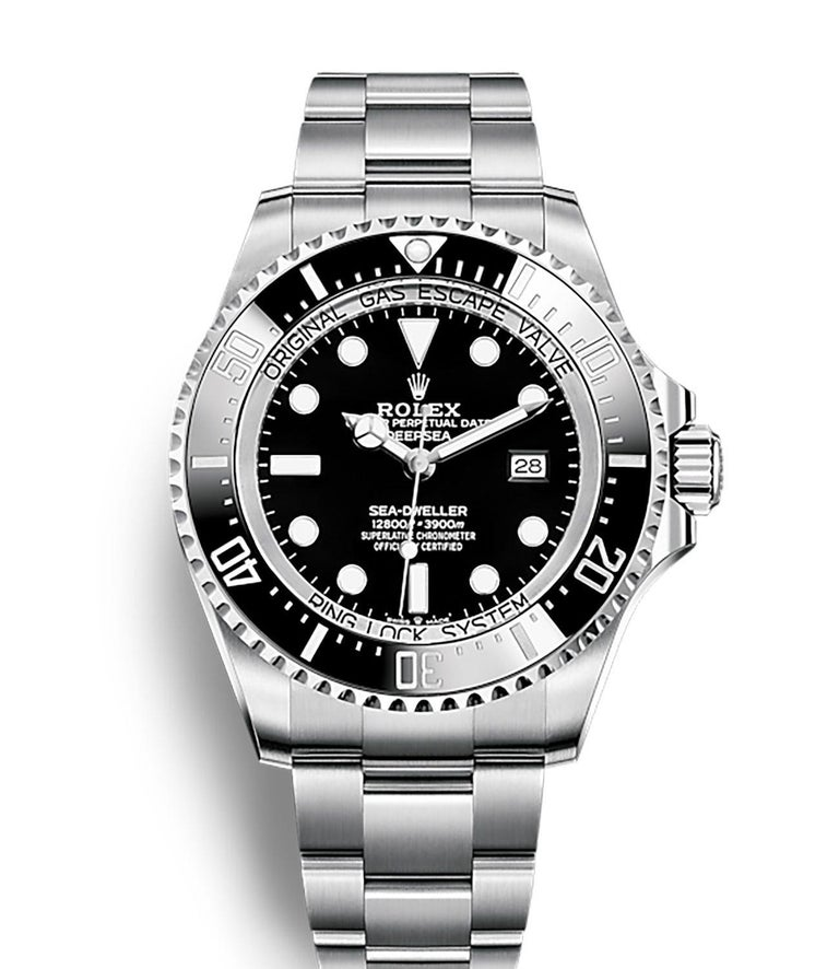 Rolex Deepsea Automatic Black Dial Men's Watch 126660-0001 In New Condition For Sale In Wilmington, DE