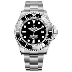 Rolex Deepsea Automatic Black Dial Men's Watch 126660-0001