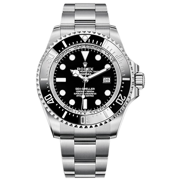 Rolex Deepsea Automatic Black Dial Men's Watch 126660-0001 For Sale