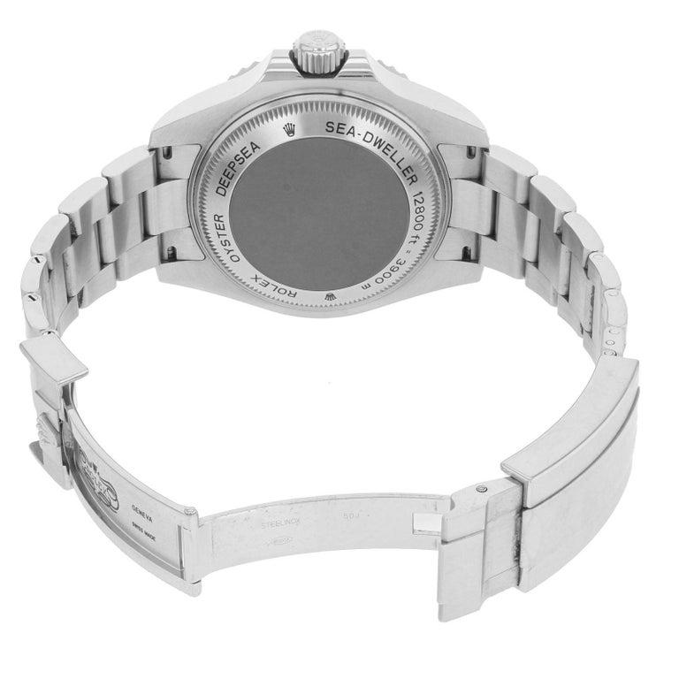 Rolex Deepsea Sea-Dweller 116660 Black Dial Steel Automatic Men's Watch 2009 2