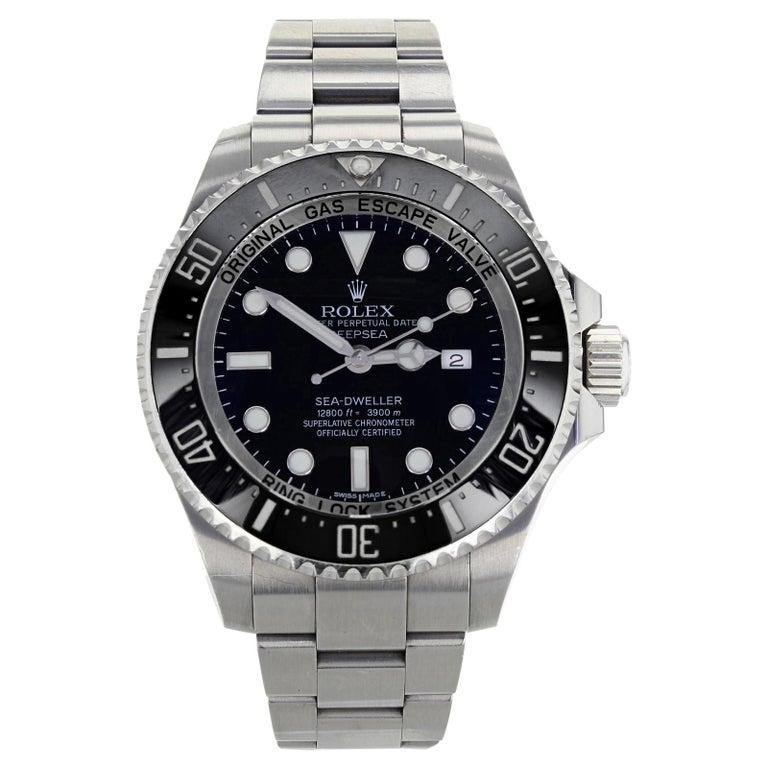 Rolex Deepsea Sea-Dweller 116660 Black Dial Steel Automatic Men's Watch 2009