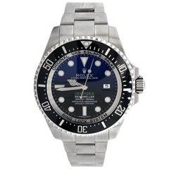 Rolex Deepsea Sea-Dweller 116660 Stainless Steel Deep Blue Dial Men's Watch
