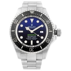 Rolex Deepsea Sea-Dweller James Cameron Steel Blue Black Dial Men's Watch 116660