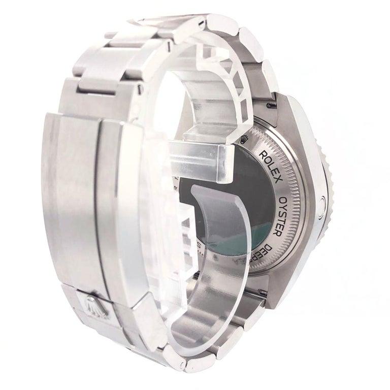 Rolex Deepsea Sea-Dweller Oyster Perpetual 44 Black Dial Steel Mens Watch 126660 In Good Condition In Aventura, FL