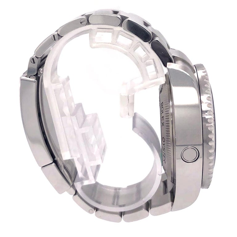 Men's Rolex Deepsea Sea-Dweller Oyster Perpetual 44 Black Dial Steel Mens Watch 126660