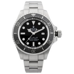 Rolex Deepsea Sea-Dweller Steel Black Dial Automatic Men's Watch 116660