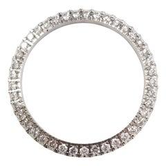 2.47 cttw Rolex Diamond Bezel Stainless Steel 41 MM