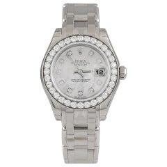 Rolex Diamond Oyster Watch