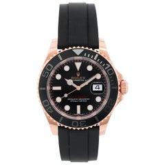Rolex Yacht-Master 18k Everose Gold Men's Watch 268655