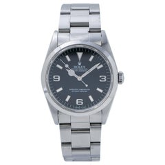 Rolex Explorer 1 14270 Unpolished S Serial Stainless Automatic Men's Watch