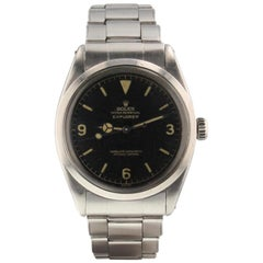 Rolex Explorer 1016, Black Dial, Certified and Warranty
