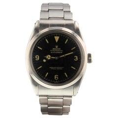 Rolex Explorer 1016, Millimeters Black Dial, Certified and Warranty
