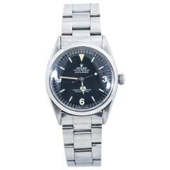 Rolex Explorer 1016 Vintage Matte Mark1 Dial Automatic Mens Watch