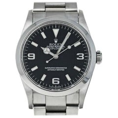 Rolex Explorer 114270, Case, Certified and Warranty