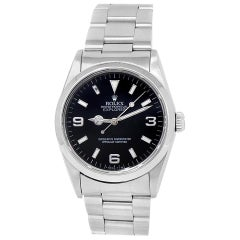 Rolex Explorer 14270, Black Dial, Certified and Warranty