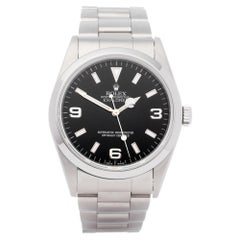 Rolex Explorer 14270 Mens Stainless Steel Watch