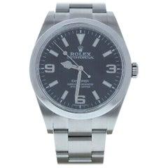 Rolex Explorer 214270, Beige Dial, Certified and Warranty