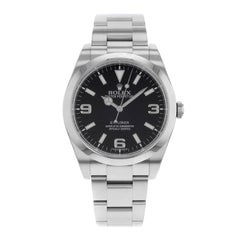 Rolex Explorer 214270 Black Dial Stainless Steel Automatic Men's Watch