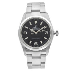 Rolex Explorer Stainless Steel Black Dial Automatic Mens Watch 114270