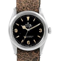 Rolex Explorer Automatic Steel Vintage Men's Watch 1016