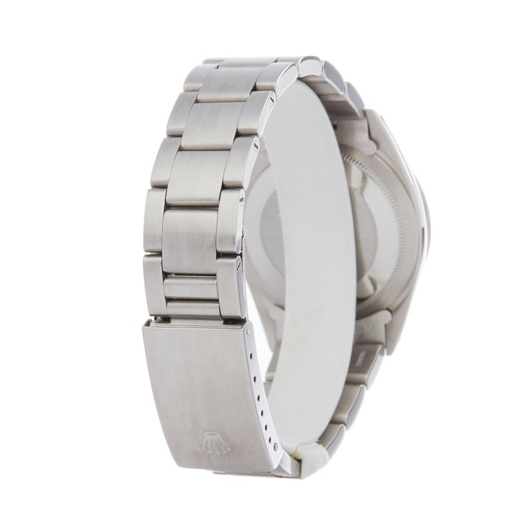 Rolex Explorer I 1016 Men's Stainless Steel Watch For Sale 2