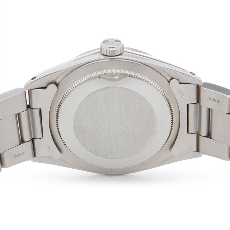 Rolex Explorer I 1016 Men's Stainless Steel Watch For Sale 3