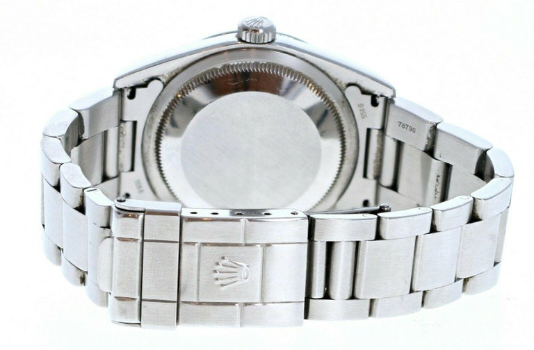 Rolex Explorer I 14270 Stainless Steel with Papers For Sale 1
