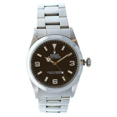 Rolex Explorer I 14270 Stainless Steel with Papers