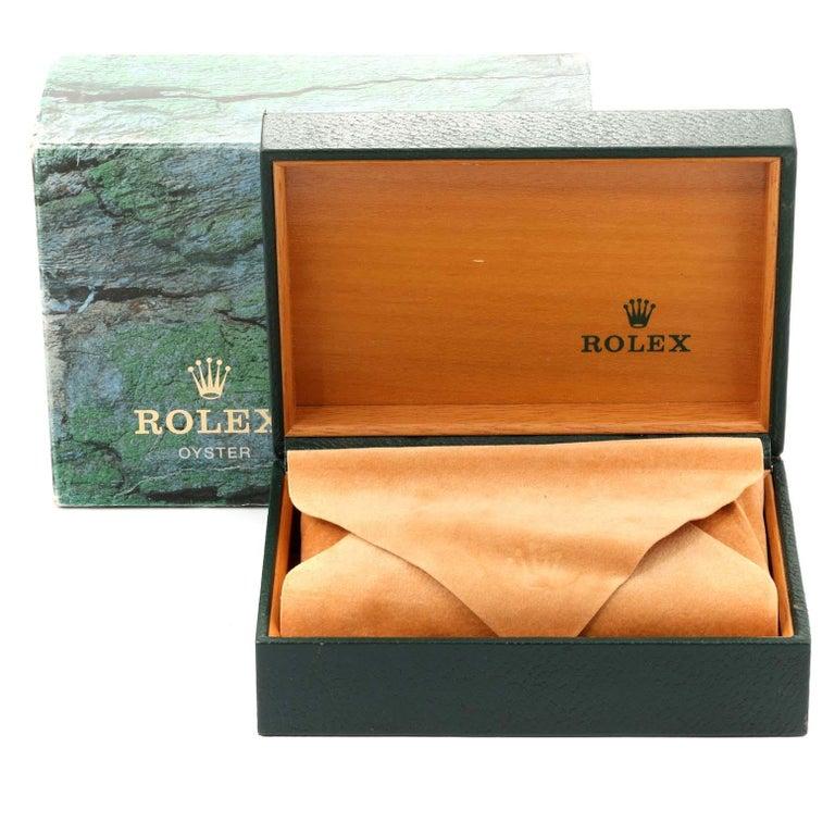 Rolex Explorer I Black Dial Automatic Steel Men's Watch 14270 7