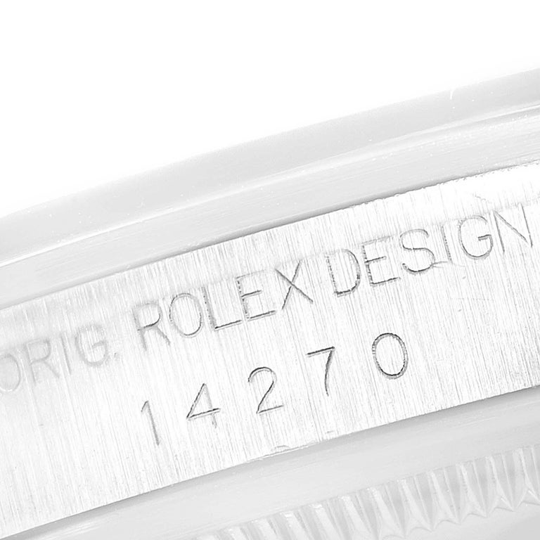 Rolex Explorer I Black Dial Automatic Steel Men's Watch 14270 3