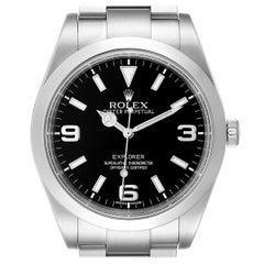 Rolex Explorer I 39 Black Dial Automatic Men's Watch 214270