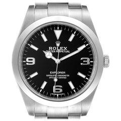Rolex Explorer I Arabic Numerals Men's Watch 214270 Box