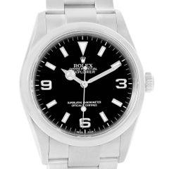 Rolex Explorer I Black Dial Stainless Steel Men's Watch 114270