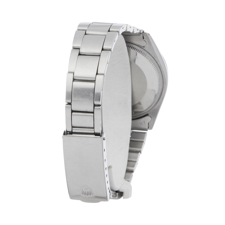 Rolex Explorer I Double Stamped T25 Stainless Steel 5500 For Sale 2