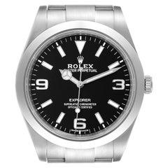 Rolex Explorer I Luminescent Arabic Numerals Men's Watch 214270 Box Card