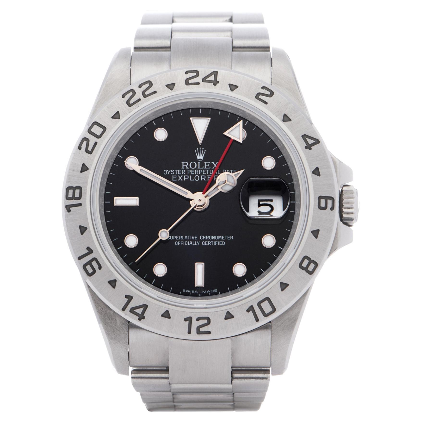 Rolex Explorer II 0 16570 Men Stainless Steel 0 Watch