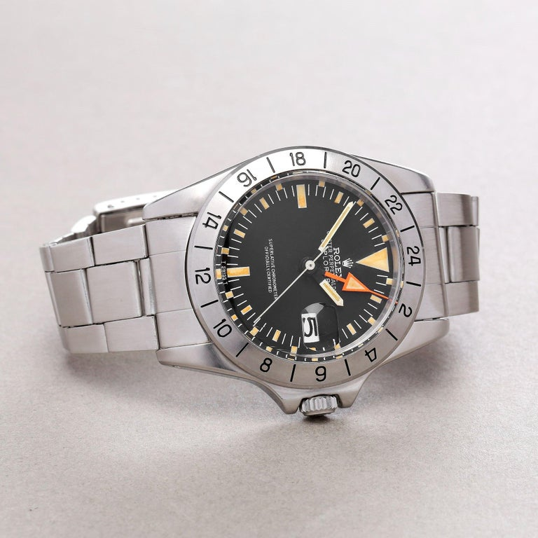 Rolex Explorer II 0 3097674 Stainless Steel Deployant Not Recommended for Use in For Sale 1