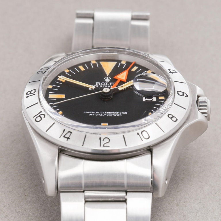 Rolex Explorer II 0 3097674 Stainless Steel Deployant Not Recommended for Use in For Sale 4