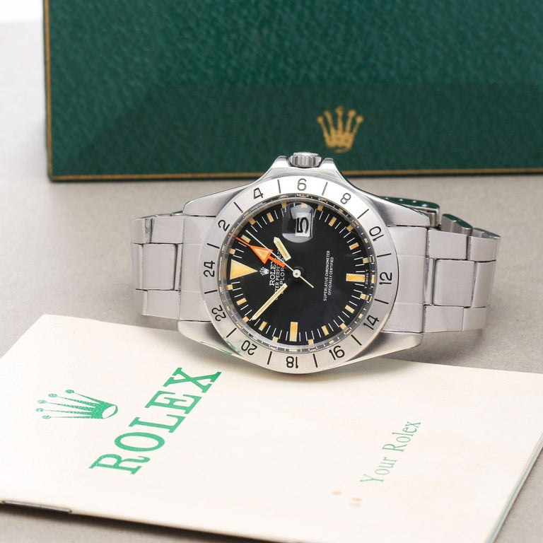 Rolex Explorer II 0 3097674 Stainless Steel Deployant Not Recommended for Use in For Sale 5